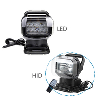 HID LED 360 Degree Rotatable Remote Control Work Light Search Light Hunting Light