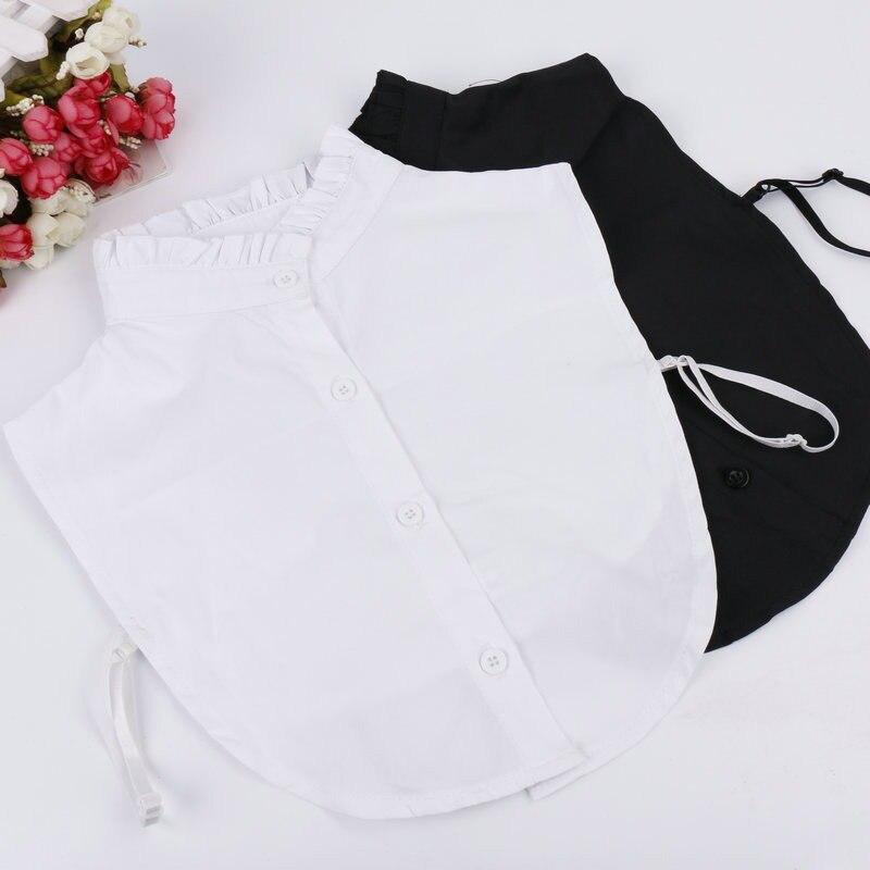 Fashion Neckwear Clothing Accessories Women Detachable Lapel Shirt Fake Collar False Blouse