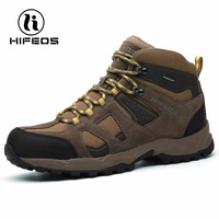 Hifeos Men S Hiking Boots Lightweight Outdoor Sports For Climbing Breathable Mountain Climbing Boots Tactical Camping