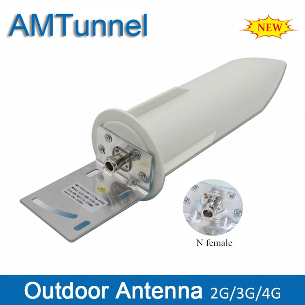 3G 4G LTE antenna GSM antenna 4G booster antenna 28dBi outdoor antenna N female for 2G 3G 4G LTE mobile signal repeater booster
