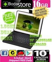 10.2 10.1 inch 16GB GOOGLE ANDROID 4.4 TABLET PC CAPACITIVE SCREEN E READER PAD TAB Bundle 10 Keyboard