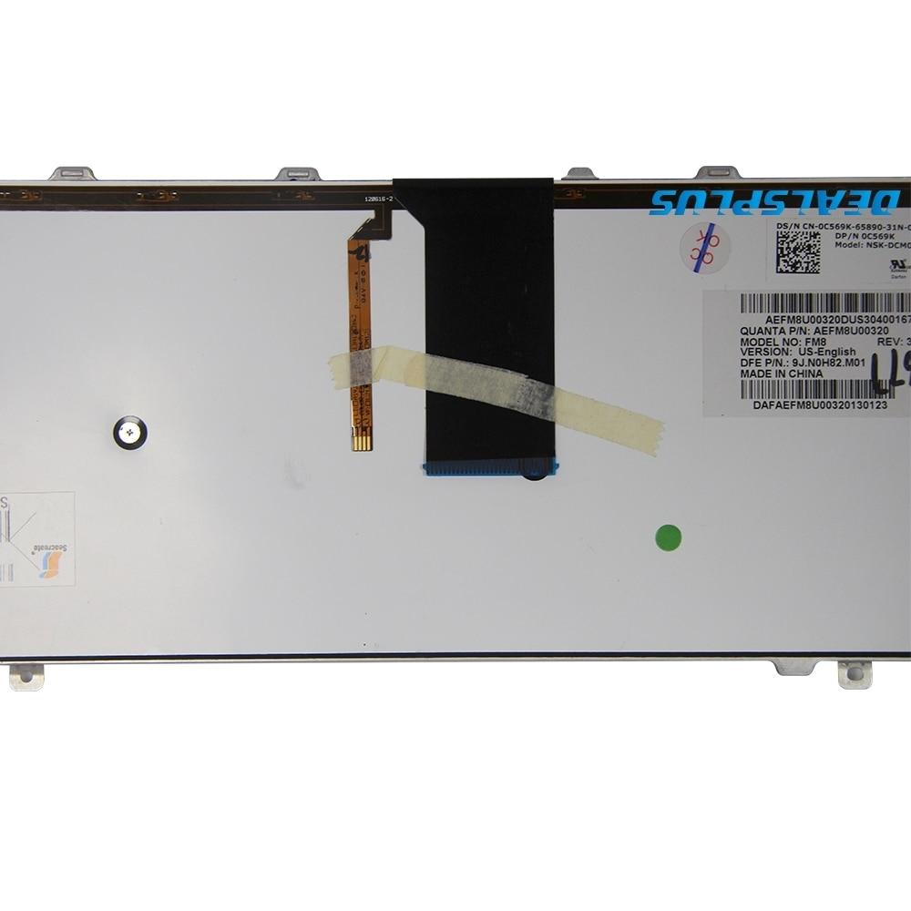 NEW = Genuine Original C569K Dell Studio XPS 1555 1557 1558 Notebook Keyboard