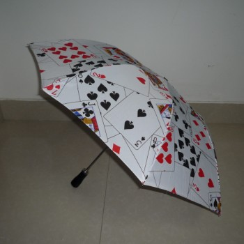 Deluxe Jumbo Parasol Production (Card Design,37 inch) 3 Fold Umbrella Production Magic Tricks Stage Magie Gimmick Props monoclonal antibodies production