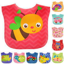 Baby Bibs Waterproof Cartoon Children Bibs Infant Burp Cloths Brand New Clothing Towel Kids Clothing Accessories