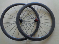 1pair New 700C Front 38mm Rear 50mm Tubular Rim Road Bicycle 3K 12K UD Full Carbon