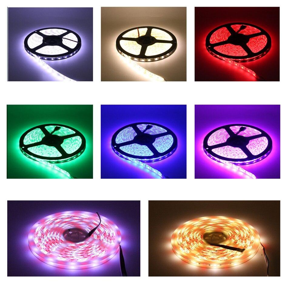 DC12V-RGBW-RGB-LED-Strip-5050-Waterproof-Flexible-LED-Light-Strip-5M-300LEDs-for-Home-Lighting