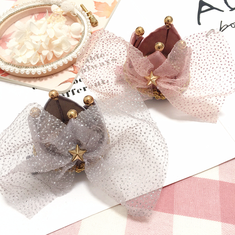 New Korea Luxurious Crown Hairpin Sparkling Gem Hair Clips P Crystal Hair Grips for Girls Hair Accessories ...