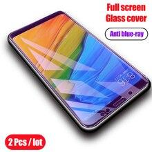 Arsmundi Pieno Vetro Temperato Per Xiaomi Redmi Nota 5 Pro Completa Dello Schermo Della Copertura Della Protezione della Pellicola della protezione Per Redmi 5 Più di vetro