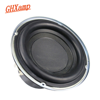 Ghxamp 6.5 inch Subwoofer Speaker 4ohm 100W Woofer LoudSpeaker Deep Bass 30 Core Long Stroke Rubber Edge 1PC
