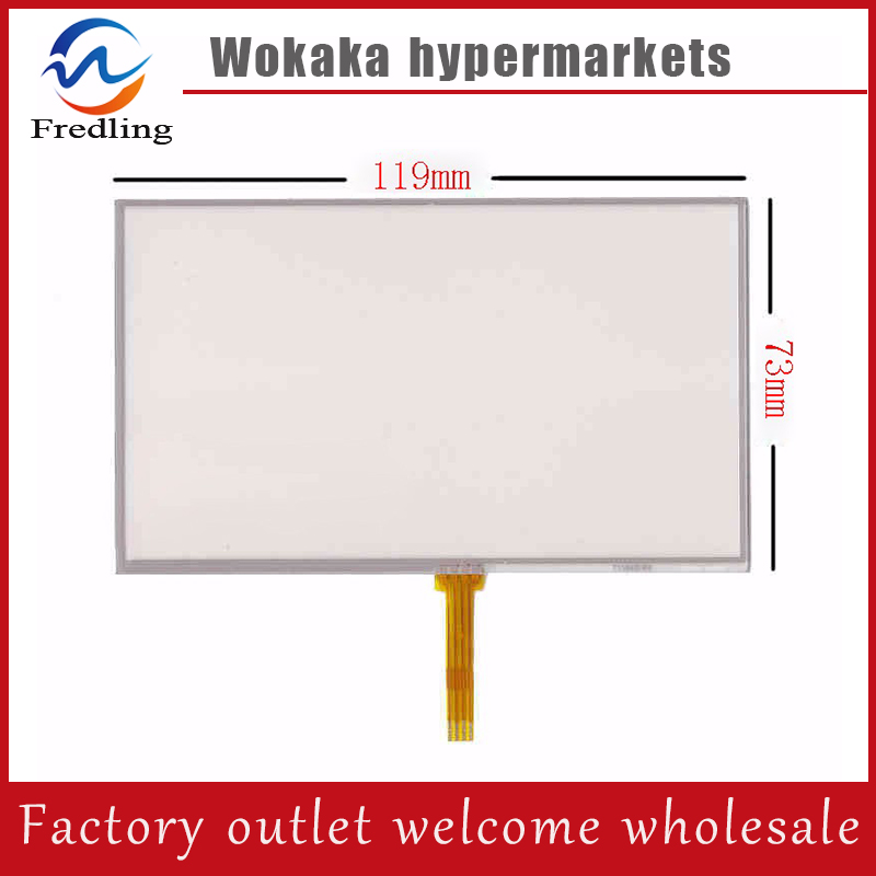 5.0 4Wire Resistive Touch Screen Panel Digitizer for Explay PN-980 PN-930 PN-935