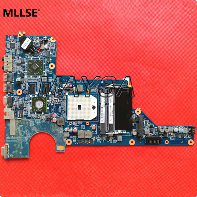 649950-001 Laptop Motherboard For HP Pavilion G4 G6 G7-1000 Motherboard DA0R23MB6D1 HD6470 CPU socket SF1 100% Fully Tested 654306 001 fit for hp probook 4535s series laptop motherboard 1gb ddr3 socket sf1 100% working