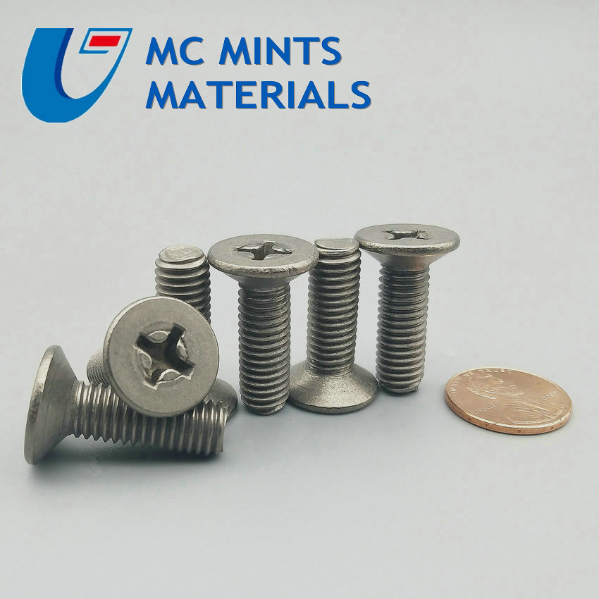 12pcs M8 x10-80mm Ti Bolt Titanium Bolt Flat Cross Head Original Ti Color Not Polished Grade 2 Titanium Screw Ti Fastener цены