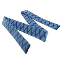 1 m 낚싯대 안티 슬립 정적 핸들 슬리브 열 수축 고무 땀 흡수