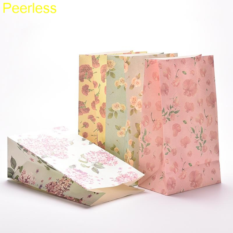 Office & School Supplies New Fashion Peerless 3pcs/lot Multifunction Stationery Holder Soft Paper Bag Festival Gift Bag/ Kraft Paper Gifts Bags Rich In Poetic And Pictorial Splendor Desk Accessories & Organizer