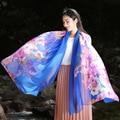 Chiffon Scarf wholesale 2017 four seasons Scarf high quality fashion print floral large beach towel scarf women pashmina WJ87