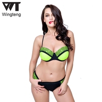 NIDALEE Swimwear Plus Size Women With Underwire Push Up Bikini Set Female Bikini Plus Size 6XL