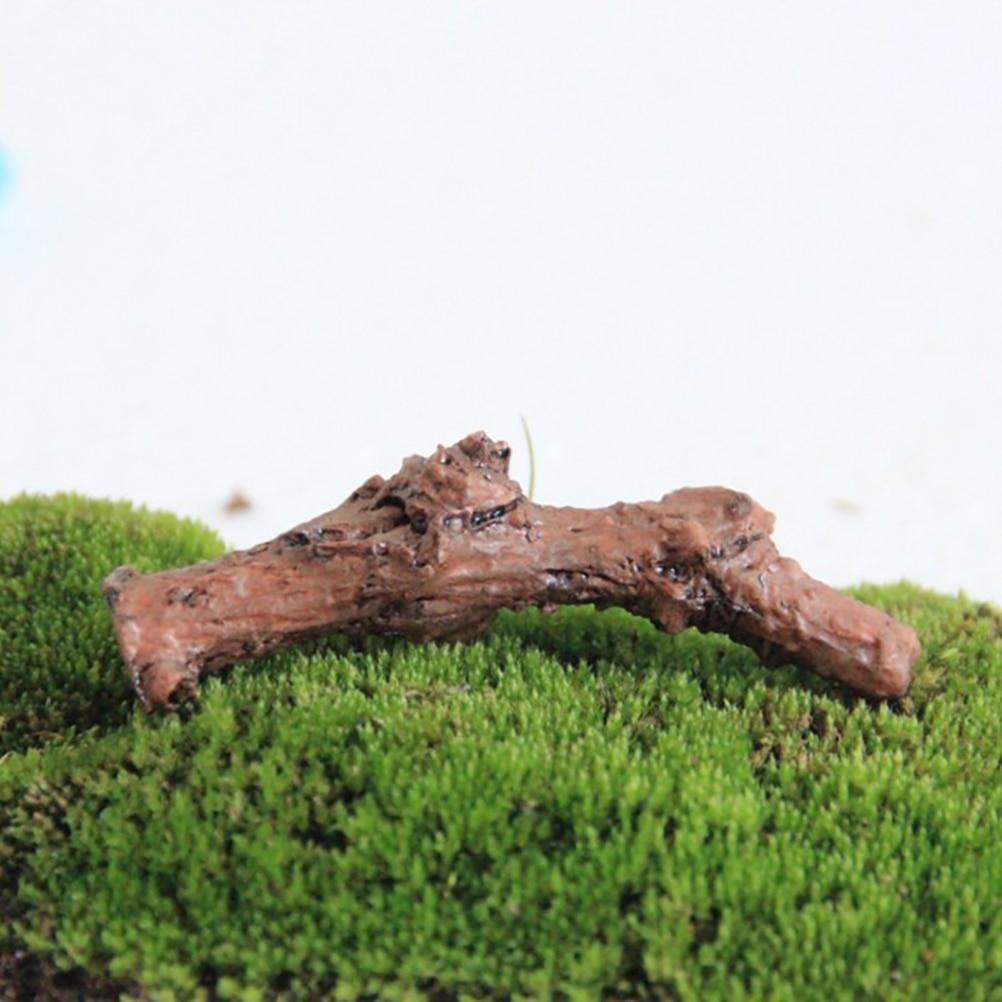 Dry Tree Branches Trunk Succulents Micro Landscape Decoration DIY Terrarium Accessories Artificial Mini Fairy Garden Miniature