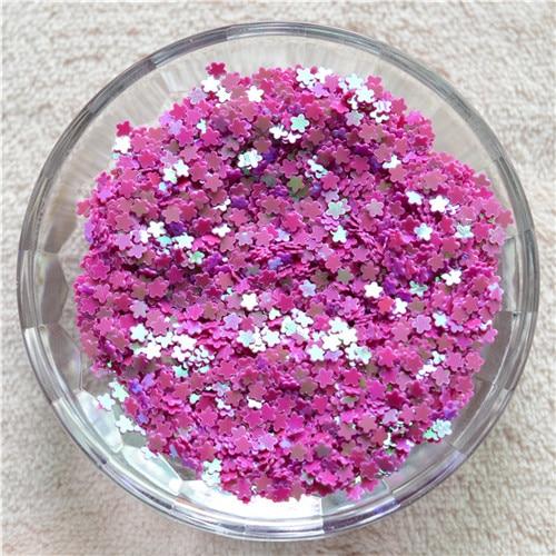 New Multi Colors 30g 3mm Lovel Flower Shape Pvc Loose Sequins Paillettes Nail Art Manicure/women Diy/wedding Decoration Confetti Sequins