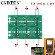 CNIKESIN Diy Six series plate 50F 100F 220F 360F 2.7V 500F 400F six series super capacitor all plate protection plate