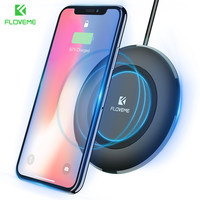 FLOVEME Qi Wireless Charger For Samsung S8 Galaxy S8 Plus Note 8 S7 S6 Edge Charging
