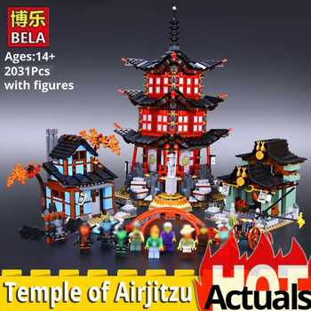 Ninja Go 10427 Big Temple of Airjitzu 2031PCS free shipping blocks boys Toys gift 70751 architecture DIY house mininatures - DISCOUNT ITEM  20% OFF All Category