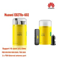 Huawei E8278s 602 4g Lte Cat.4 Modem & Wi fi Router Unlocked New in Box, Black