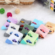2016 Fashion Patchwork Babies Socks Cute Unisex Comfortable And Soft Cotton Sock Warm Socks