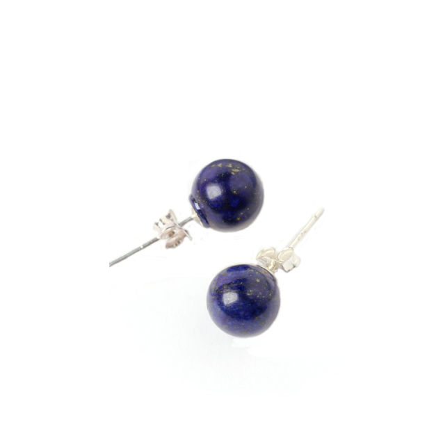 jewellery and stud zivarish product silver lapis earrings anar