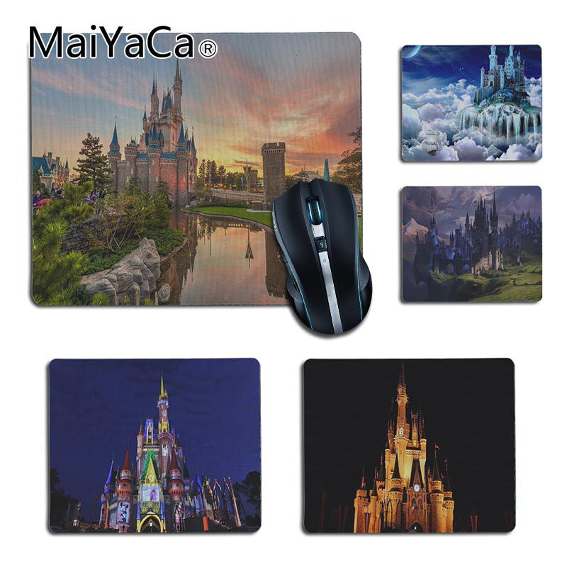MaiYaCa High Quality magic castle small Pattern Soft Accessories Gaming MousePads for Dota2 Player gaming mouse pad
