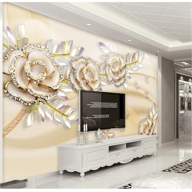 Bedroom Wall Coverings 2017: Aliexpress.com : Buy Custom Any Size Photo Background