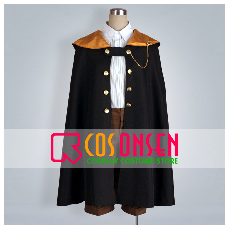 COSPLAYONSEN Wand of Fortune Est Rinaudo Cosplay Costume Full Set All Size
