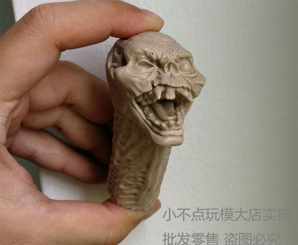 Blank 1//6 Scale Evil Dead 2 Ash Williams Henrietta Head Sculpt Unpainted