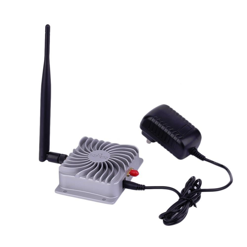 2.4GHZ Super Long Range High Speed IEEE802.11b/g/n WiFi WLAN Signal Booster 5W Wifi Wireless Broadband Amplifier Silver bt sport minimum broadband speed