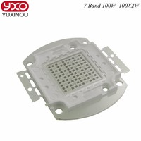100W 200w Grow Led Chip Full Spectrum 7 Band 8 Band Red Blue With FR UV