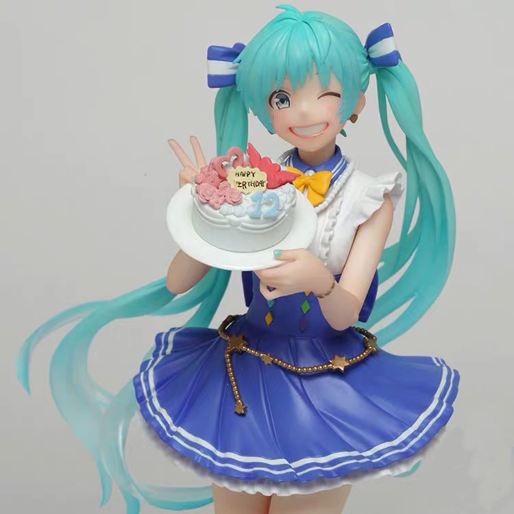 Original Taito Vocaloid Figur Birthday 2019 Version Hatsune Miku action figure model Figurals