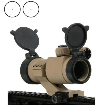 Aim Holographic M2 Red Green Dot Sight With Cantilever Mount Tactical Airsoft RifleScope Hunting Shooting Gun Scope AO5033