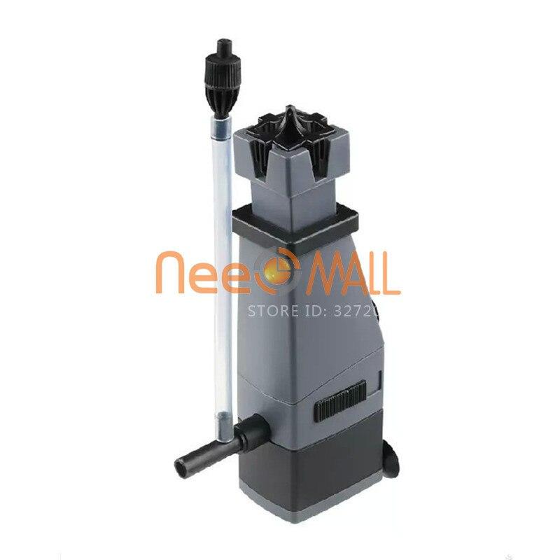3w 300l/h Sunsun Aquarium Surface Protein Skimmer Remove Oil For Water Plant Fish Tank Skimmer Filter