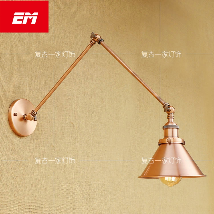 Lights & Lighting Sweet-Tempered Iwhd Amercian Adjustable Retro Wall Lights Fixtures Bedroom Living Room Beside Lamp Led Stair Light Wandlampen Lampara Pared