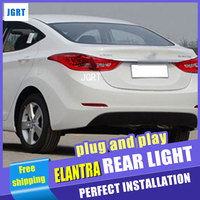 Car Styling For Hyundai Elantra Taillights 2011 2014 Elantra MD Tail Light Rear Lamp DRL Brake