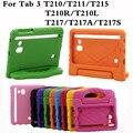 Противоударный Планшетный Back Case For Samsung Galaxy Tab 3 7.0 T210 T211 T210R T217 Дети T2105 Универсальный Защитный Рук Владельца крышка