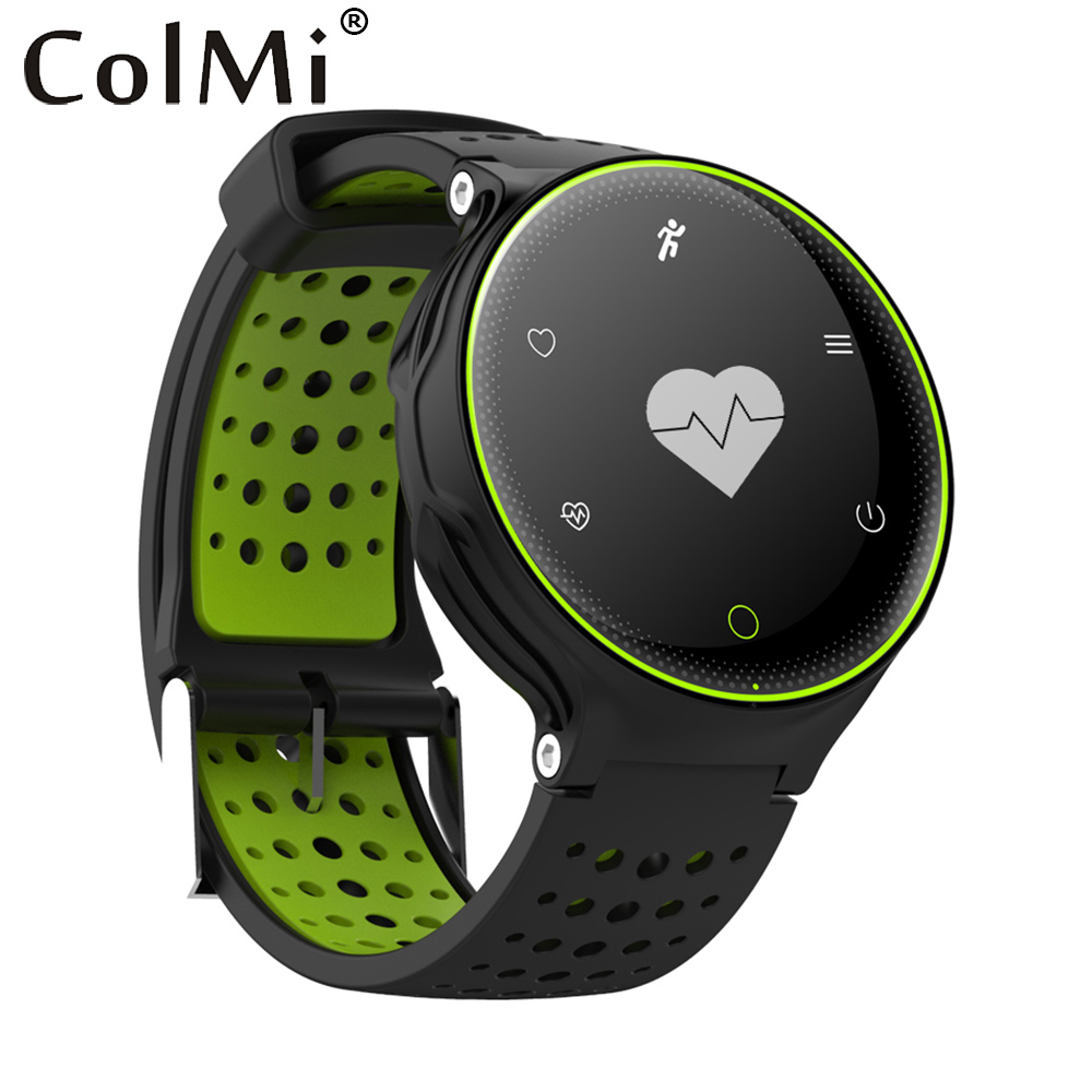 ColMi font b Smartwatch b font Heart Rate Tracker IP68 Waterproof Ultra long Standby For IOS