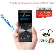 Xduoo X3 MP3 HIFI Music Player with HD OLED Screen Support APE/FLAC/ALAC/WAV/WMA/OGG/MP3 With Free Earphone/32GB TF card