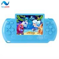 10 teile/los Neue design Kinder 3,5 zoll touchscreen handspielkonsolen mit AV Kabel Unterstützung TV-out PVP M700 Videospiele