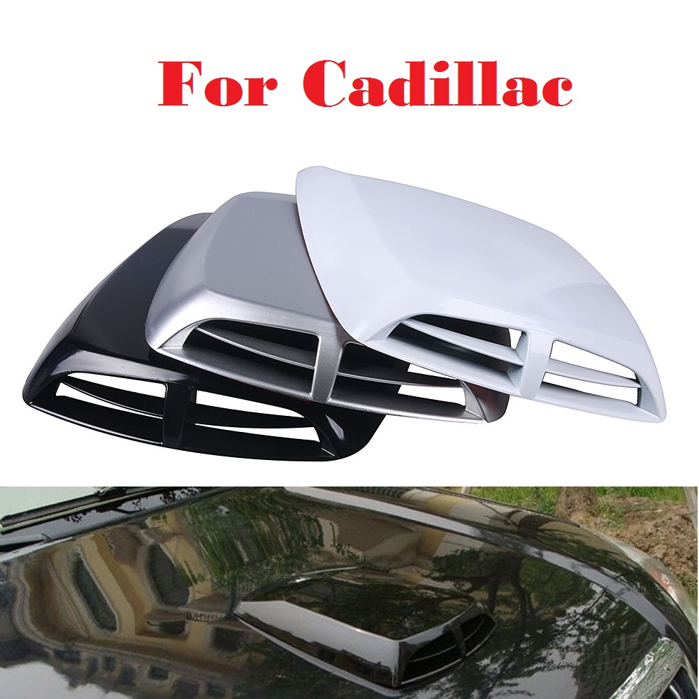 Auto Engine Air Inlet Vent Cover Hood Sticker Styling for Cadillac ATS ATS-V BLS CT6 CTS CTS-V De Ville DTS ELR SRX STS XLR XTS