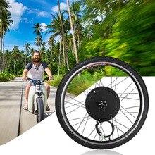 1000 Вт Электрический E велосипед Conversion Kit 26 «переднее колесо двигатель Велосипедный спорт концентратора 48 В в алюминий сплав Tool Kit кривошипно