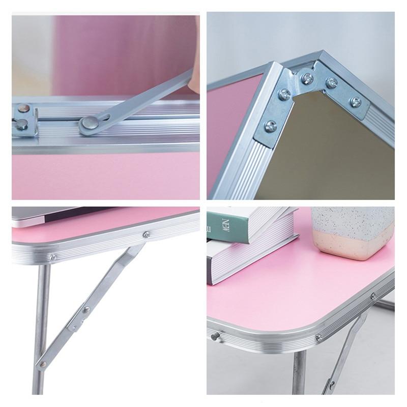 Image 5 - Портативный складной стол для ноутбука, компьютерный стол, подставка для ноутбука, поднос для дивана, кровати, рабочей станции, мебель для дома и офиса-in Компьютерные столы from Мебель on AliExpress