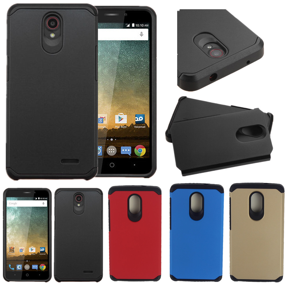 new concept c100a bc432 US $3.99 |AtomBros For ZTE Uhura N817 Case Hybrid Rugged Plastic Armor  Matte Shockproof Hard Phone Cases Shockproof Cover -in Half-wrapped Cases  from ...