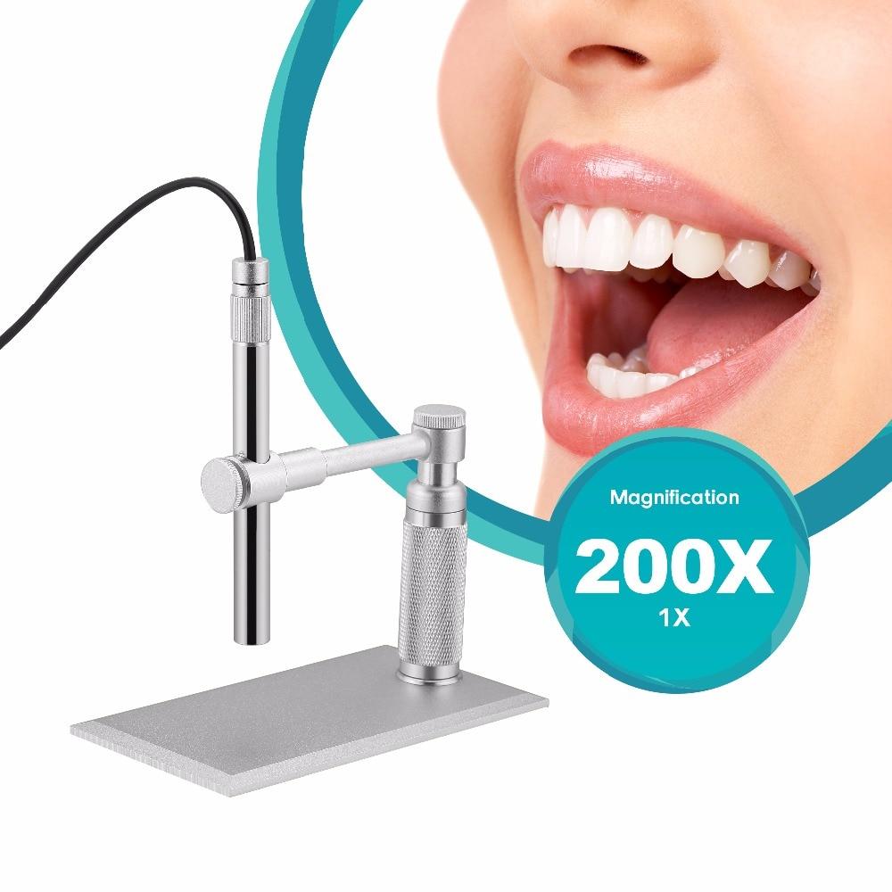AOMEKIE 500X digitális USB mikroszkóp, 2MP HD videokamera - Mérőműszerek - Fénykép 2