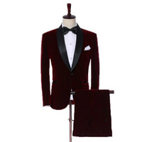 New men's casual suit green fruit collar small suit men's wedding dress men's jacket business wear