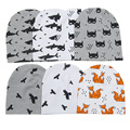 Новый хлопок акула бэтмен фокс медведь детские beanies дети мальчики девочки шапки галстуки аксессуары для детей шапки головные уборы